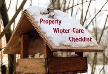 winter care checklist